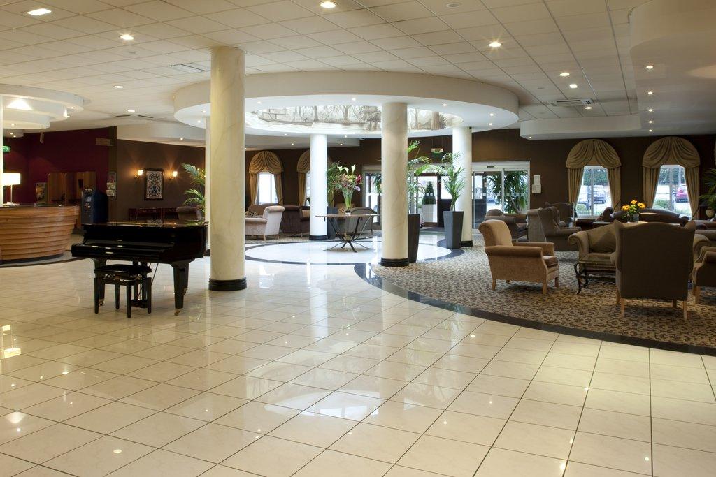 Holiday Inn Barnsley M1, Jct.37-The stunning marble tiled hotel lobby<br/>Image from Leonardo