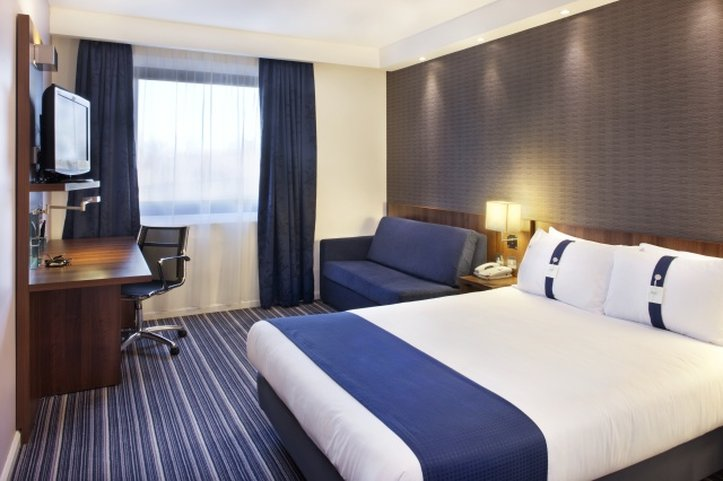 Holiday Inn Express Colchester-Double Bed Guest Room<br/>Image from Leonardo