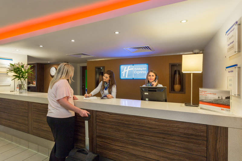 Holiday Inn Express Colchester-Reception Area<br/>Image from Leonardo