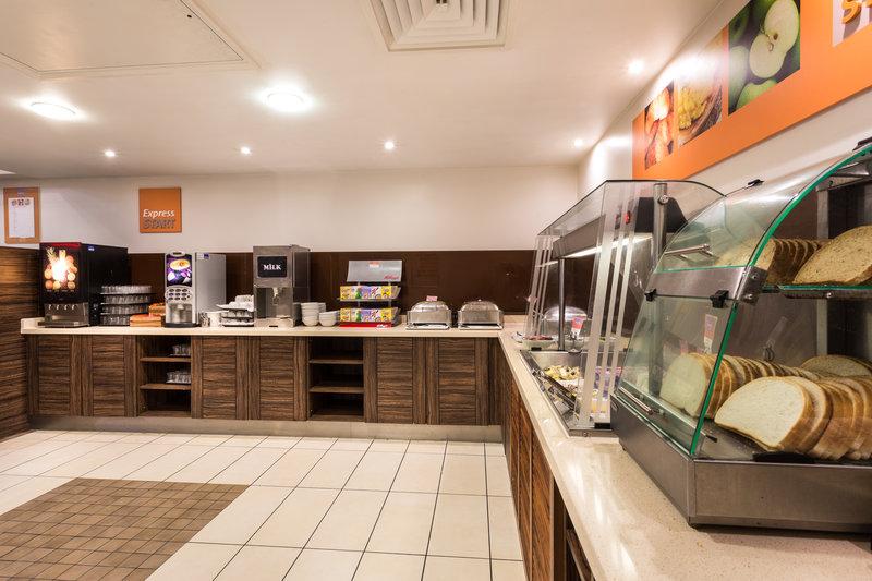 Holiday Inn Express Colchester-Breakfast Bar<br/>Image from Leonardo