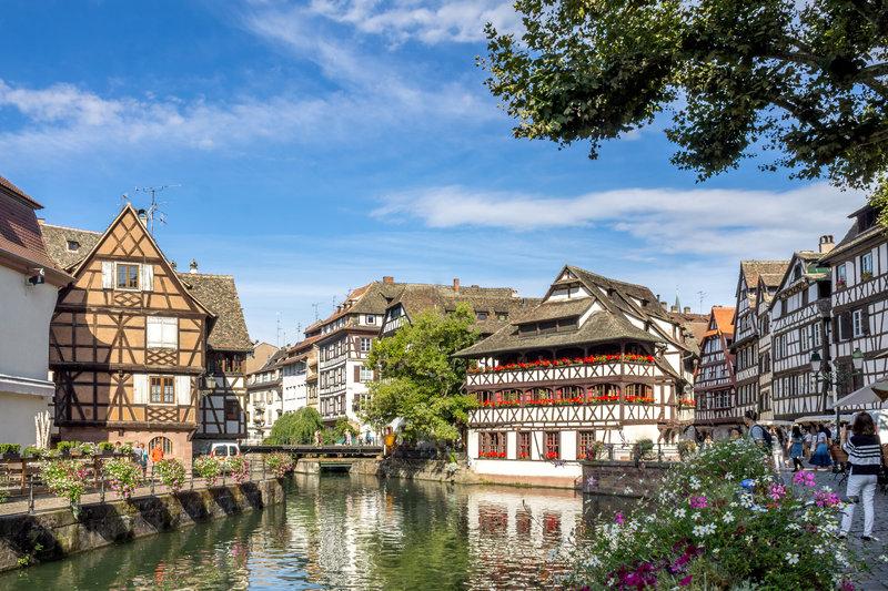 Holiday Inn Express Strasbourg Sud-La petite France in the heart of Strasbourg<br/>Image from Leonardo