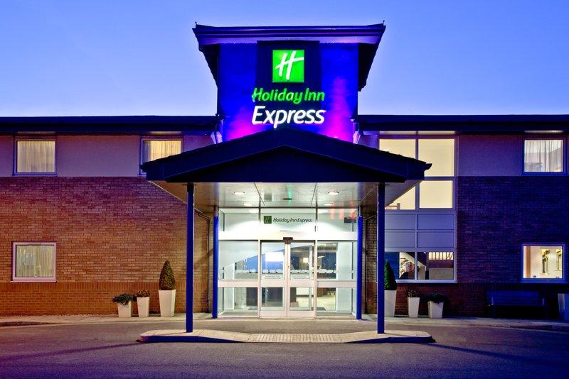 Holiday Inn Express Shrewsbury-Hotel Exterior Dawn<br/>Image from Leonardo