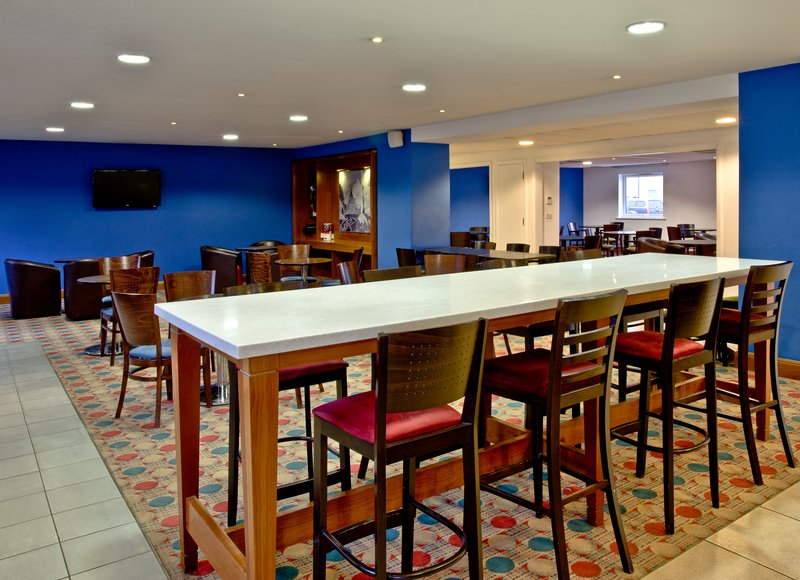 Holiday Inn Express Shrewsbury-Kick back in our welcoming Lobby Seating Area with free WIFI<br/>Image from Leonardo