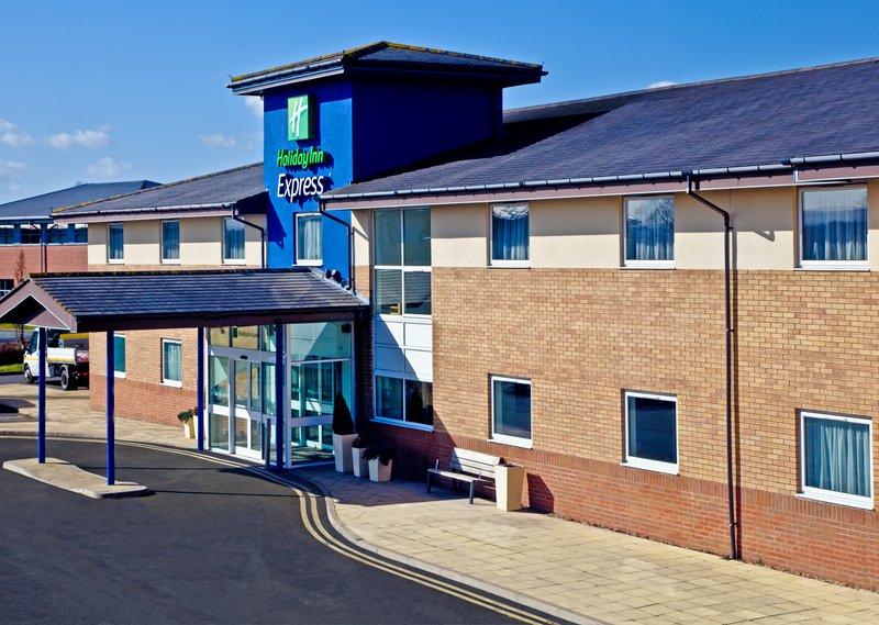 Holiday Inn Express Shrewsbury-Hotel Exterior Day<br/>Image from Leonardo