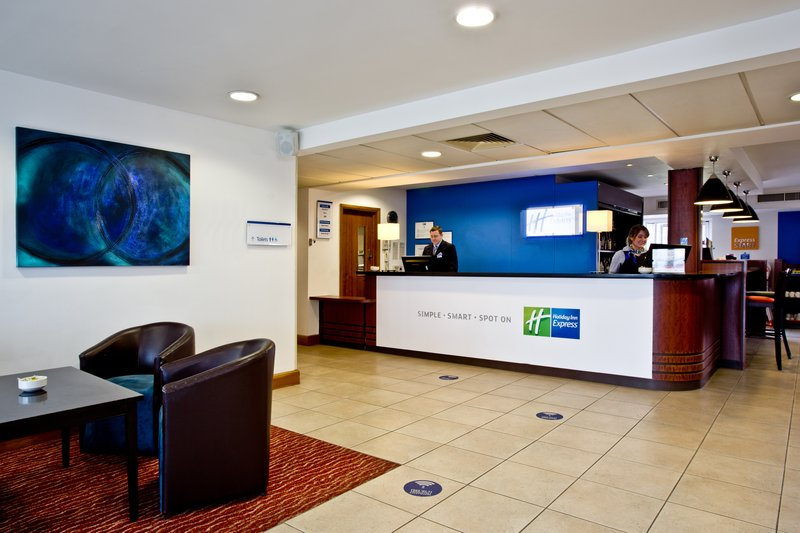 Holiday Inn Express Shrewsbury-Check in at our inviting Front Desk<br/>Image from Leonardo