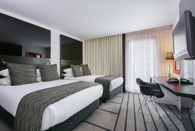 Crowne Plaza Manchester City Centre-Standard twin room – two double beds<br/>Image from Leonardo