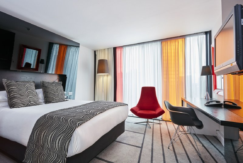 Crowne Plaza Manchester City Centre-Standard double room – one queen bed<br/>Image from Leonardo