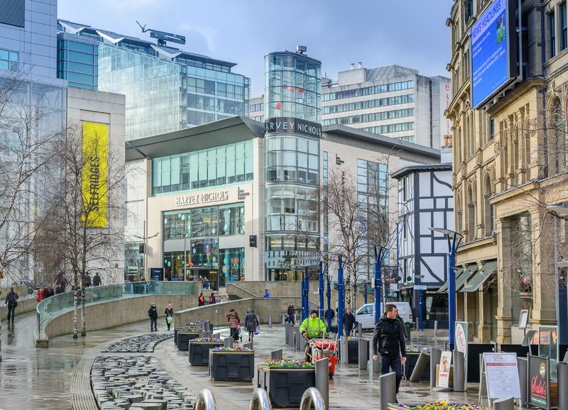 Crowne Plaza Manchester City Centre-A host of shop, bars and restaurants on the doorstep.<br/>Image from Leonardo