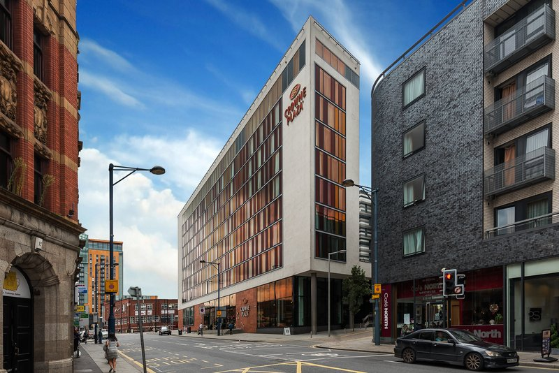 Crowne Plaza Manchester City Centre-Hotel Exterior<br/>Image from Leonardo