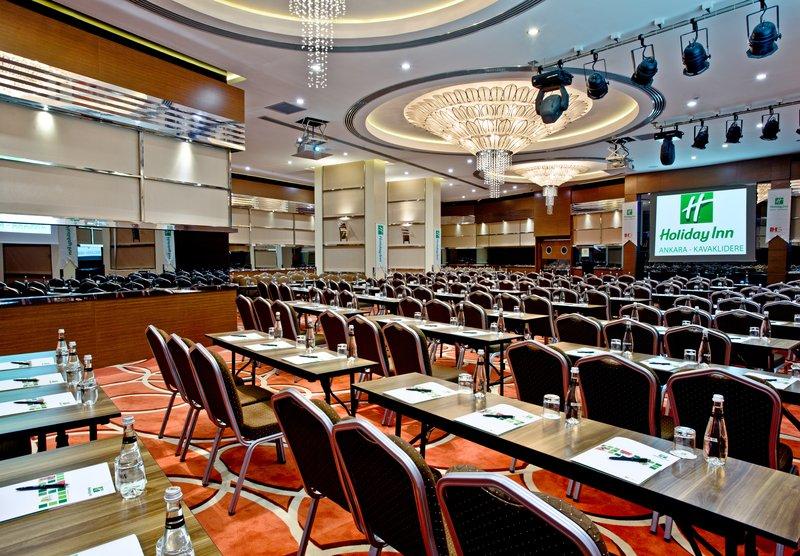 Holiday Inn Ankara-Kavaklidere-Spacious Ballroom<br/>Image from Leonardo