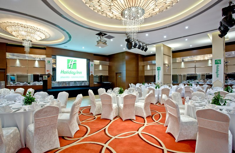 Holiday Inn Ankara-Kavaklidere-Hold your conference in our expansive Ballroom<br/>Image from Leonardo