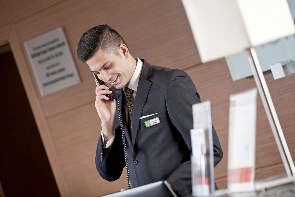 Holiday Inn Ankara-Kavaklidere-Concierge<br/>Image from Leonardo