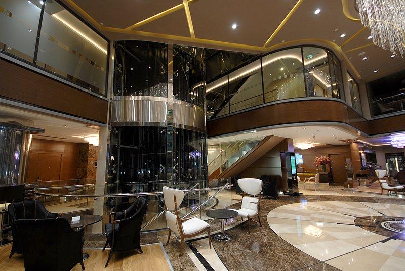 Holiday Inn Ankara-Kavaklidere-Our Contemporary Hotel Lobby<br/>Image from Leonardo