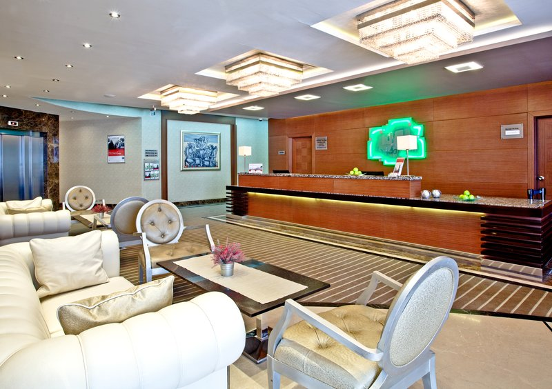Holiday Inn Ankara-Kavaklidere-Enjoy a cup of coffee in our convenient Reception Area<br/>Image from Leonardo