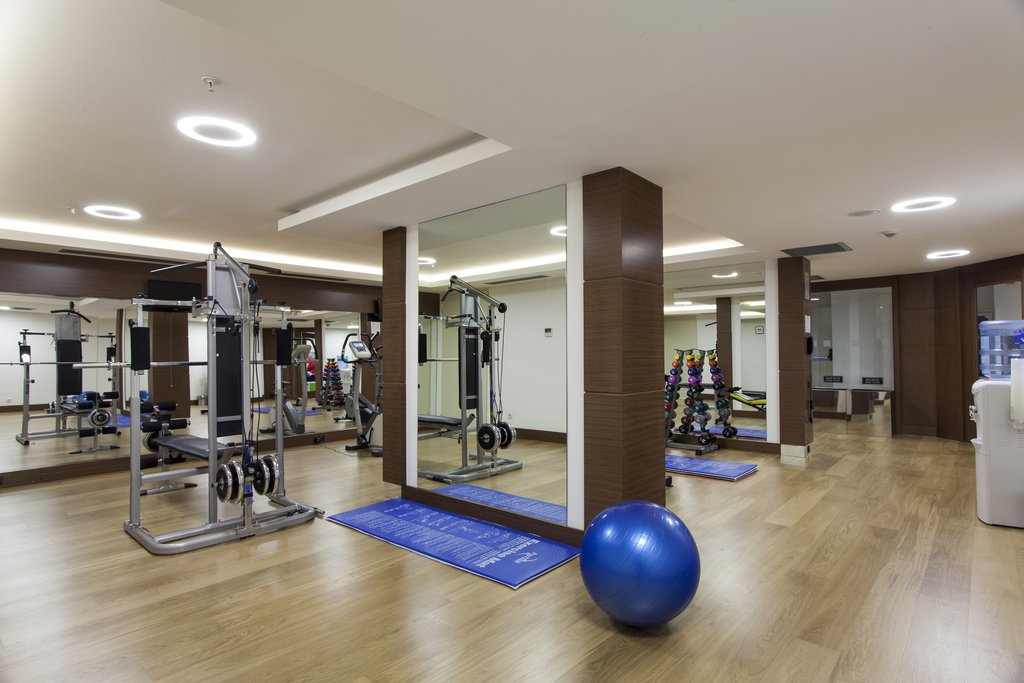 Holiday Inn Ankara-Kavaklidere-Fitness Center<br/>Image from Leonardo