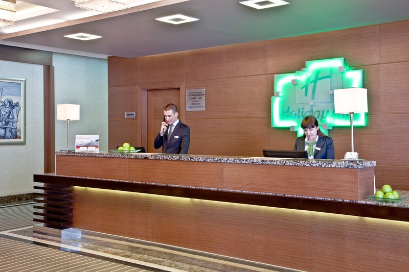 Holiday Inn Ankara-Kavaklidere-Our Front Desk staff is at your service<br/>Image from Leonardo