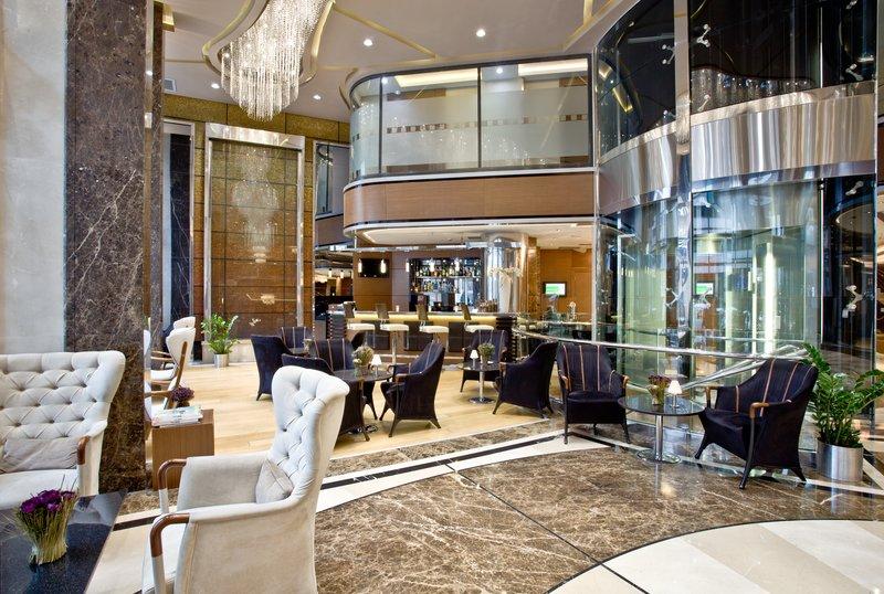 Holiday Inn Ankara-Kavaklidere-Step inside our stunning Lobby<br/>Image from Leonardo