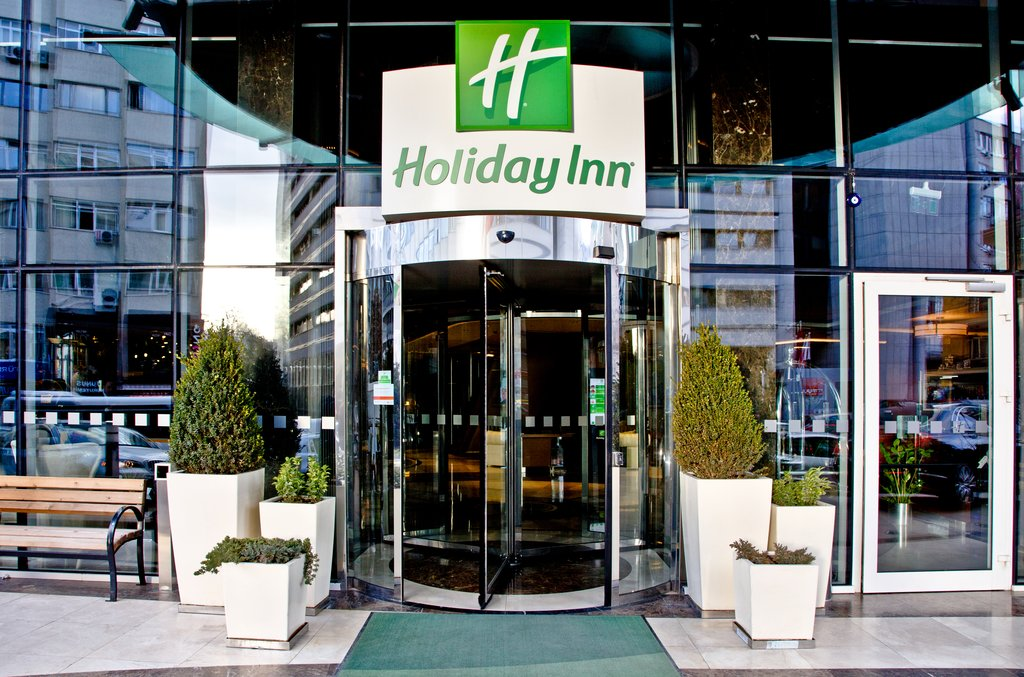 Holiday Inn Ankara-Kavaklidere-Entrance<br/>Image from Leonardo