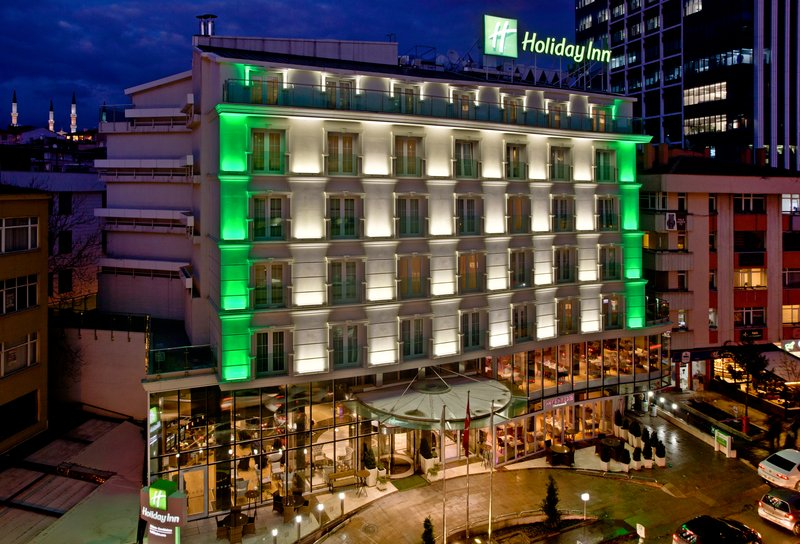 Holiday Inn Ankara-Kavaklidere-Hotel Exterior Night<br/>Image from Leonardo