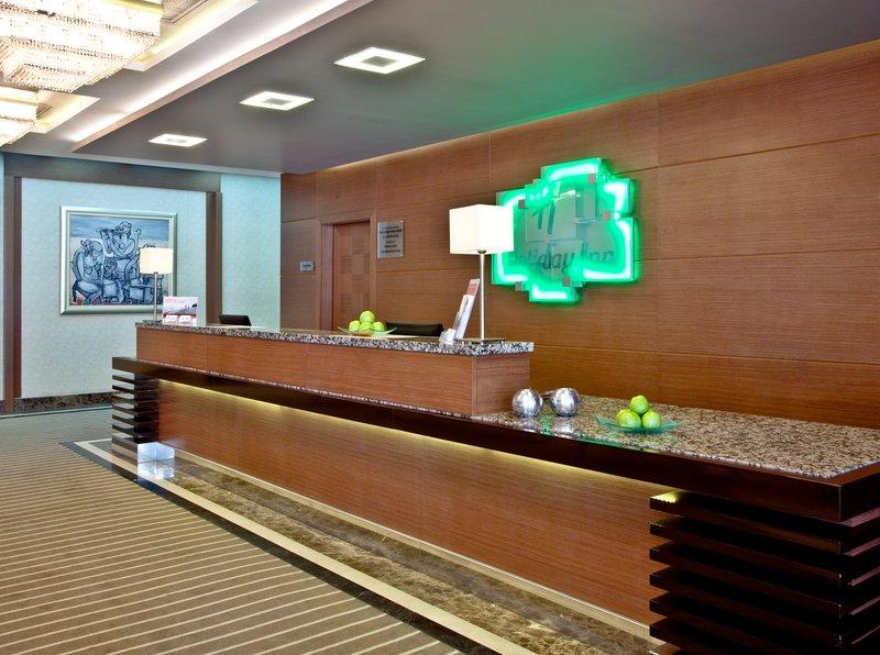 Holiday Inn Ankara-Kavaklidere-Contemporary Front Desk<br/>Image from Leonardo