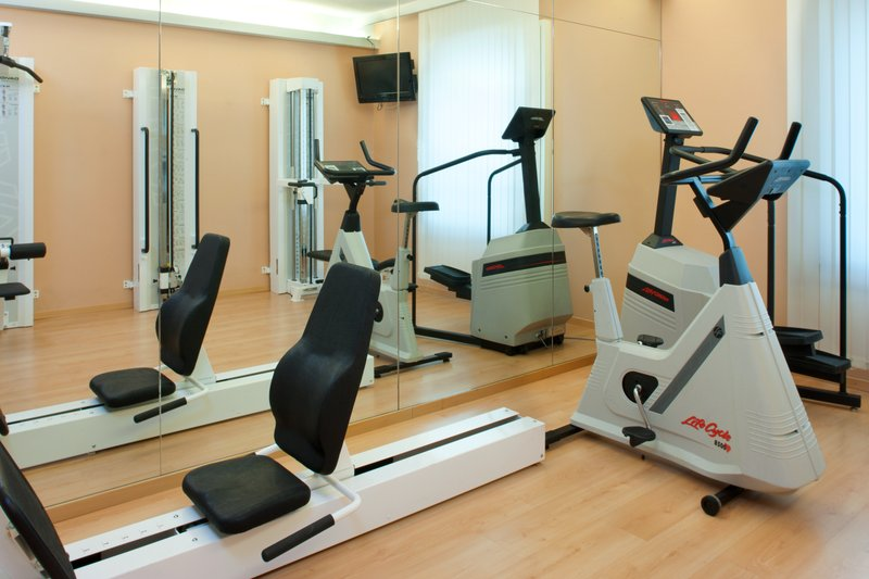 Holiday Inn Gent - Expo-Workout in our mini-gym<br/>Image from Leonardo