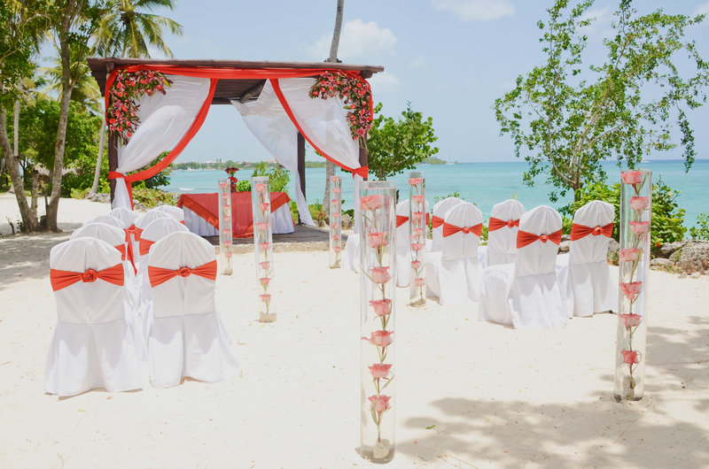 Hilton La Romana, an All Inclusive Adult Rst - Beach GazeboWedding <br/>Image from Leonardo