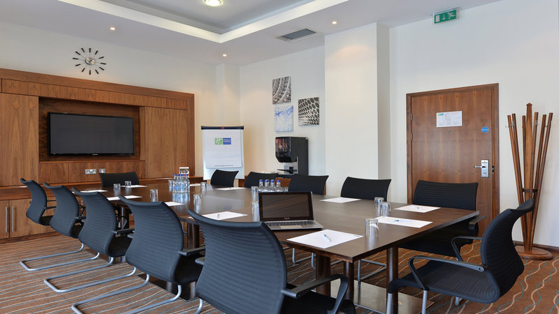 Holiday Inn Express Sheffield City Centre-Holiday Inn Express Meeting room is ideal for up to 16 delegates<br/>Image from Leonardo