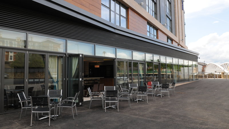 Holiday Inn Express Sheffield City Centre-Enjoy a drink or two sat in our outdoor patio<br/>Image from Leonardo