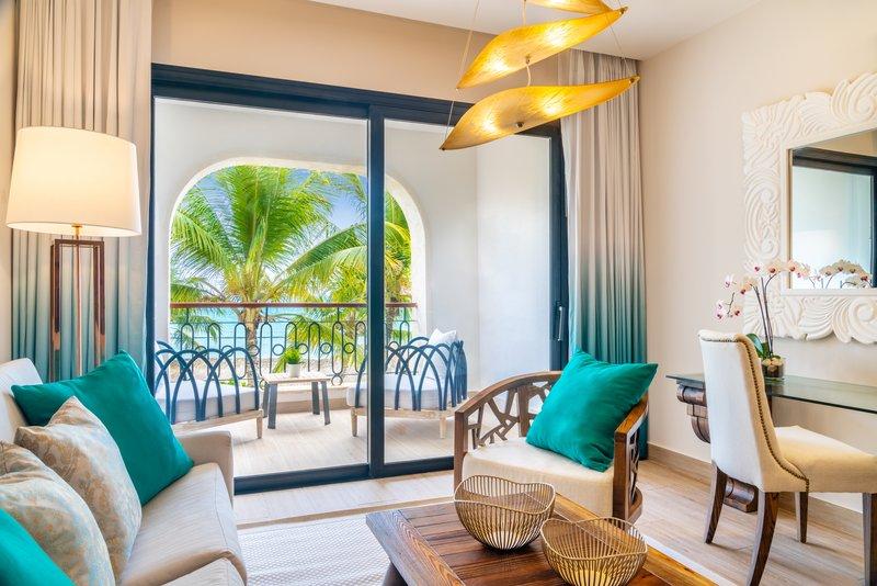 Sanctuary Cap Cana - Luxury Jr Suite Living Area <br/>Image from Leonardo