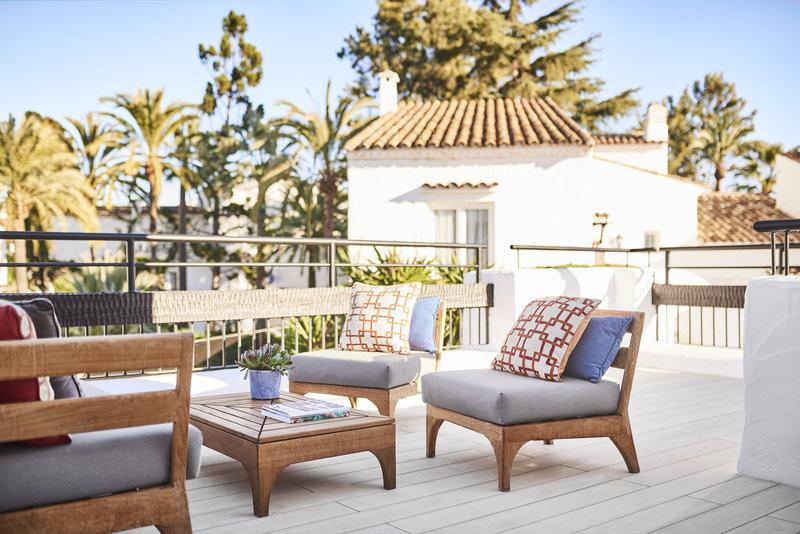 Hotel Puente Romano-Executive Suite Terrace<br/>Image from Leonardo