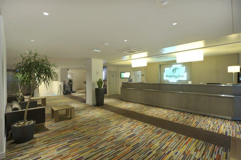 Holiday Inn Lyon Vaise-Our contemporary Hotel Lobby<br/>Image from Leonardo