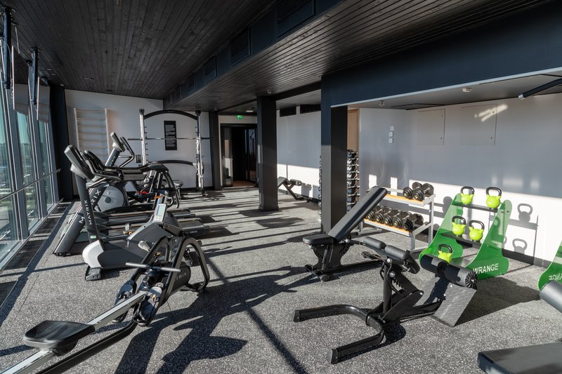 Holiday Inn Helsinki - Exhibition & Convention Centre-State-of-the-art equipment offer a good work-out<br/>Image from Leonardo