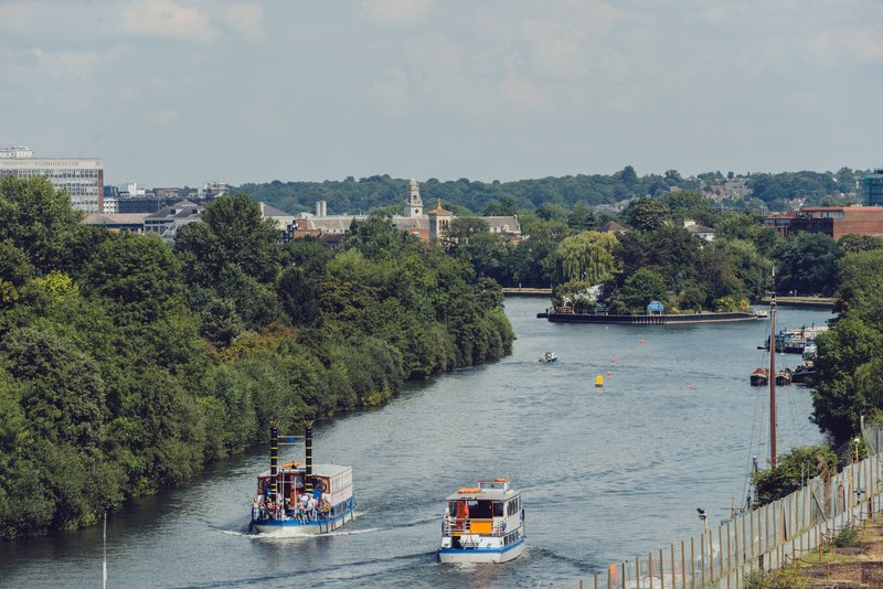 Holiday Inn London - Kingston South-View from Hotel<br/>Image from Leonardo