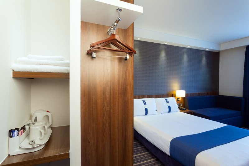 Holiday Inn Express Harlow-Accommodating Guest Room Amenities<br/>Image from Leonardo