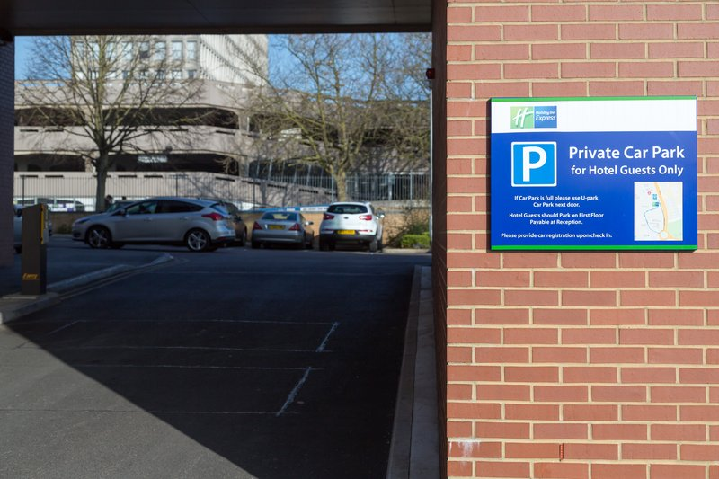 Holiday Inn Express Harlow-Leave your vehicle under our covered Car Park<br/>Image from Leonardo
