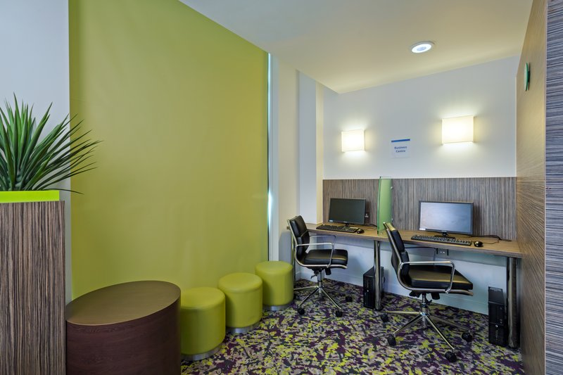 Holiday Inn Express Harlow-Send a last-minute email from our convenient Business Center<br/>Image from Leonardo