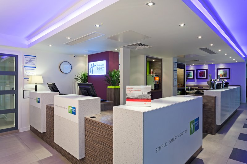 Holiday Inn Express Harlow-Check in at our welcoming Front Desk<br/>Image from Leonardo