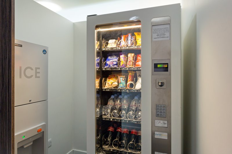 Holiday Inn Express Harlow-Grab a quick snack from our Vending Machine<br/>Image from Leonardo