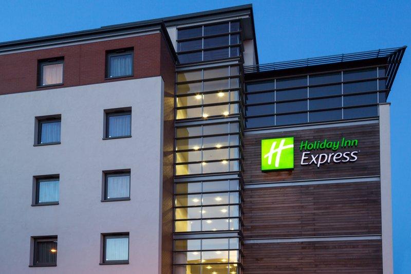 Holiday Inn Express Harlow-Hotel Exterior Dusk<br/>Image from Leonardo