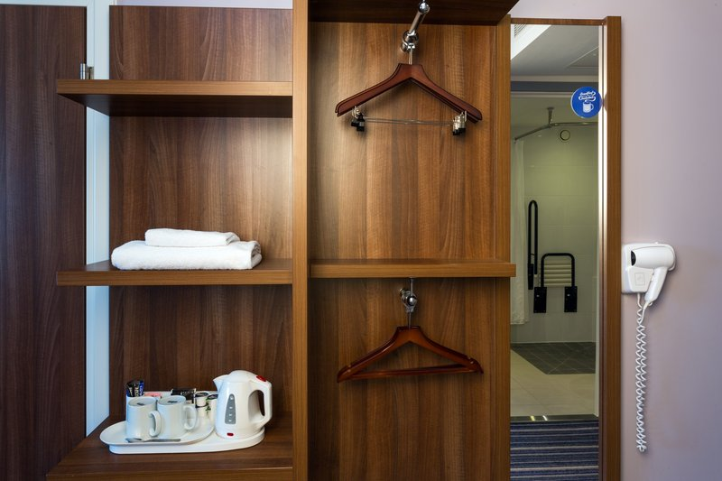 Holiday Inn Express Harlow-Accommodating ADA/Accessible Room Amenities<br/>Image from Leonardo