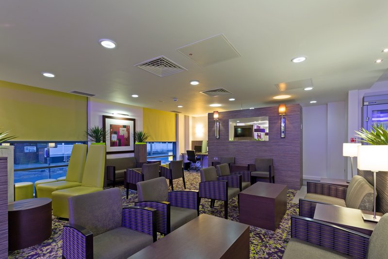 Holiday Inn Express Harlow-Relax in our inviting Lobby<br/>Image from Leonardo