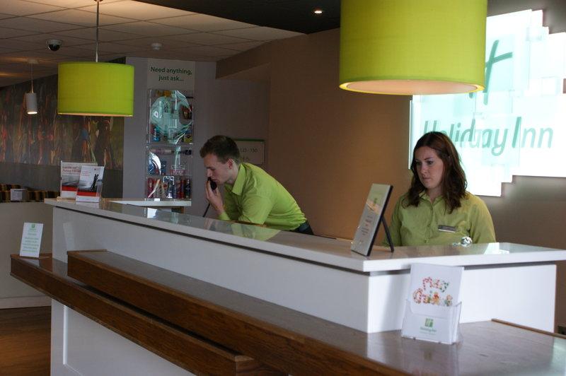 Holiday Inn Huntingdon - Racecourse-Front Desk<br/>Image from Leonardo