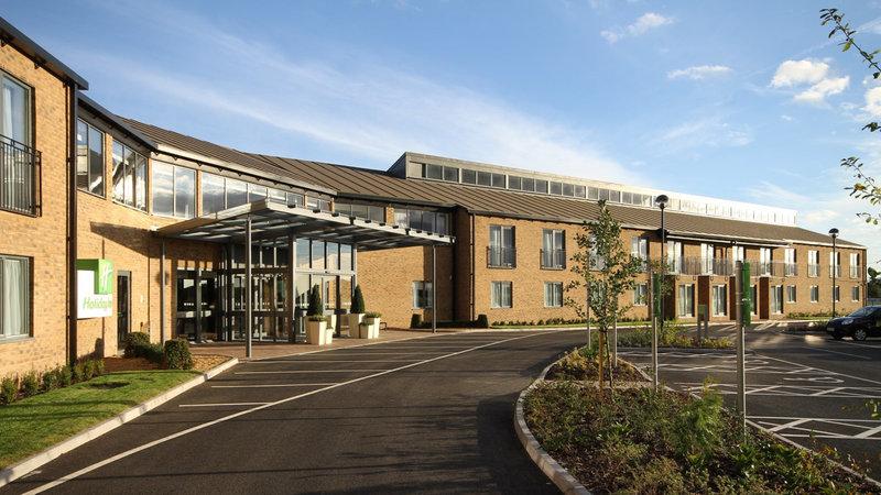 Holiday Inn Huntingdon - Racecourse-Side View Entrance<br/>Image from Leonardo