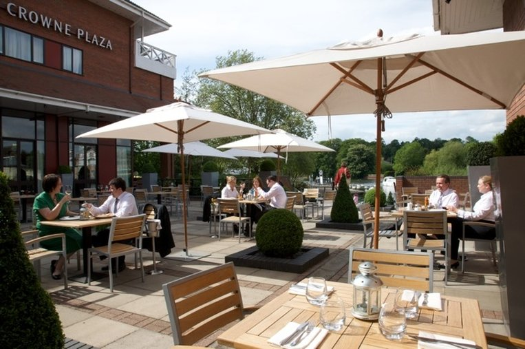 Crowne Plaza Reading-Guest Patio<br/>Image from Leonardo