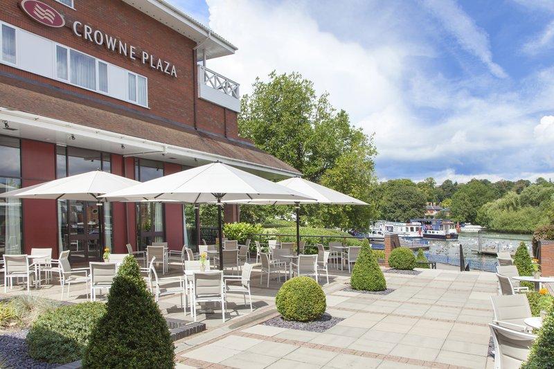 Crowne Plaza Reading-Crowne-Plaza-Reading-Outside-Terrace-Area<br/>Image from Leonardo