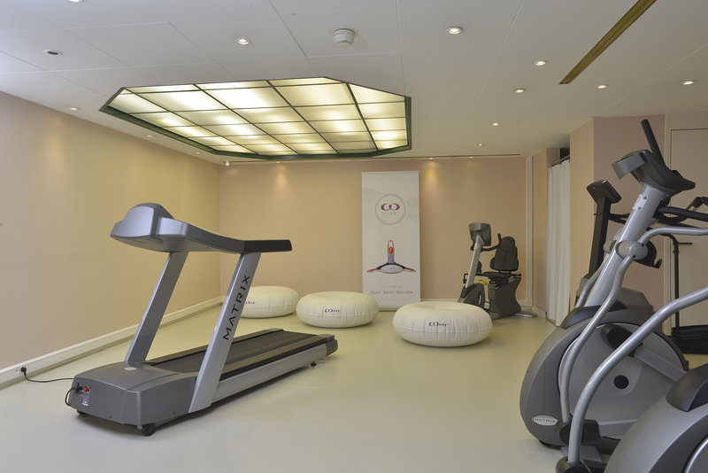 Crowne Plaza Toulouse-Our Fitness Center is open from 6am to 10pm<br/>Image from Leonardo