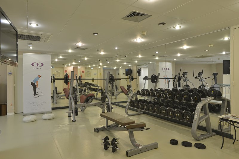 Crowne Plaza Toulouse-Fitness Center, perfectly equipped<br/>Image from Leonardo