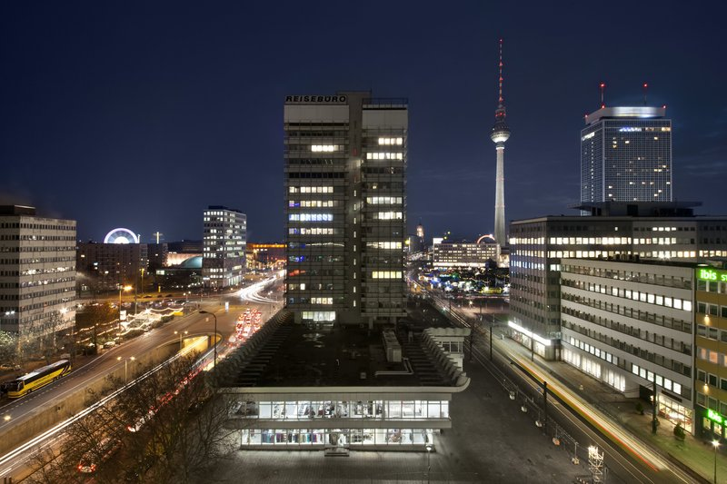 Hotel Indigo Berlin Centre Alexanderplatz-View from Hotel of the Berlin TV Tower<br/>Image from Leonardo