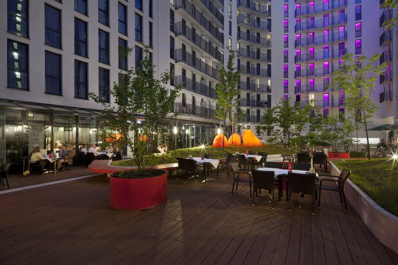 Hotel Indigo Berlin Centre Alexanderplatz-Dine or relax with friends in our Guest Patio area<br/>Image from Leonardo