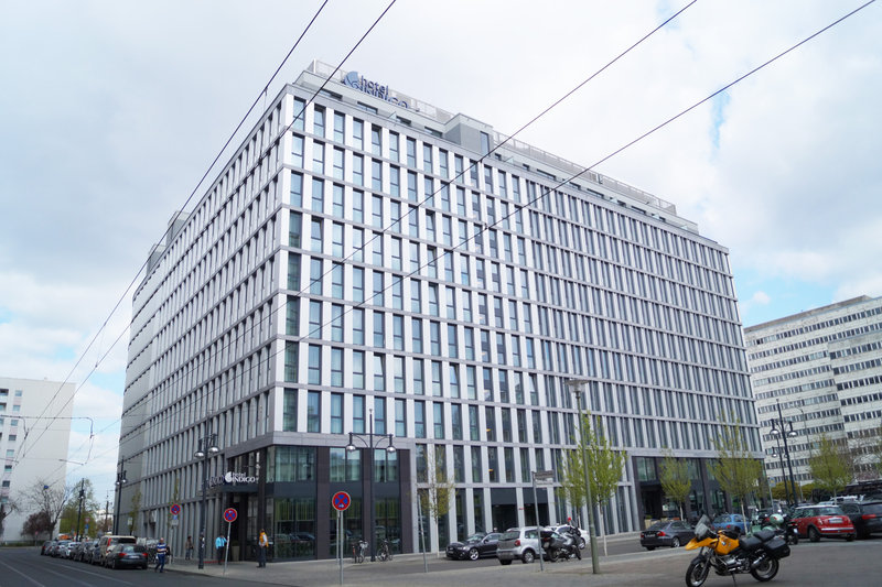 Hotel Indigo Berlin Centre Alexanderplatz-Hotel Exterior by day<br/>Image from Leonardo
